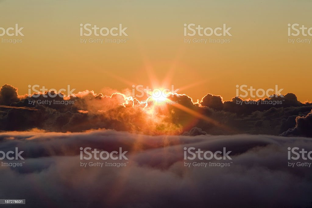 Glorious Sunrise royalty-free stock photo