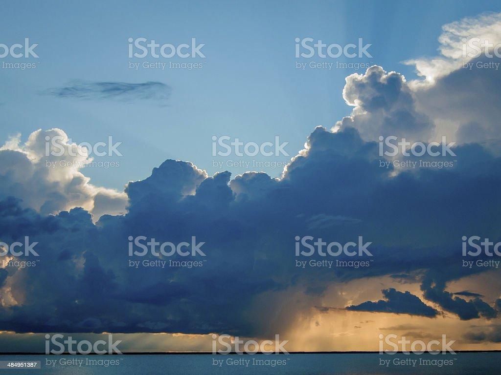 Glorious Sunset stock photo