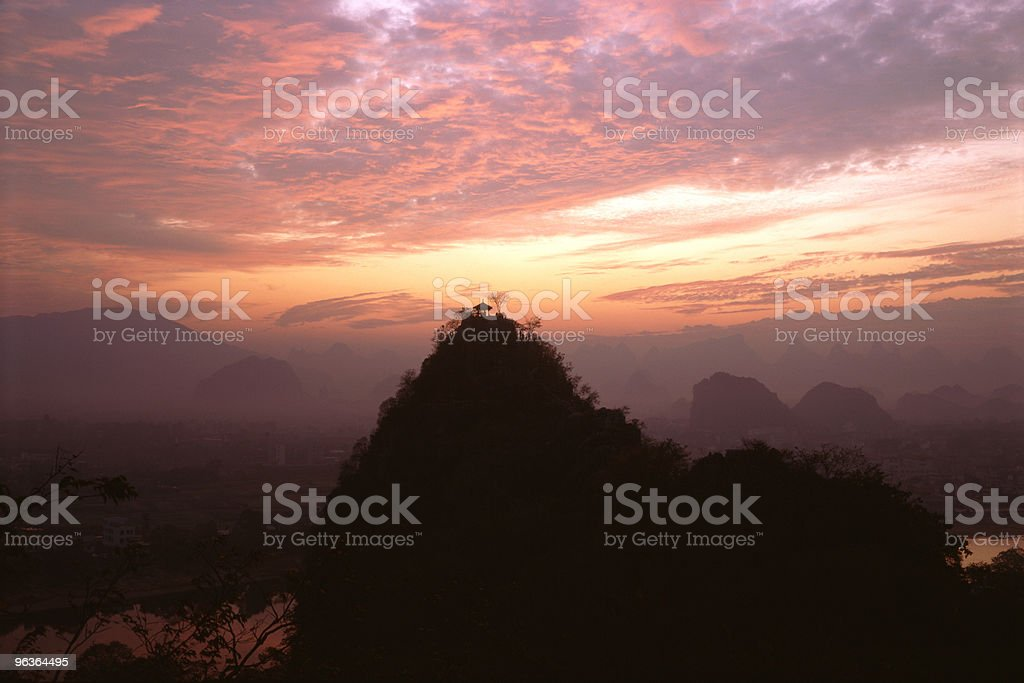Glory of sunrise royalty-free stock photo
