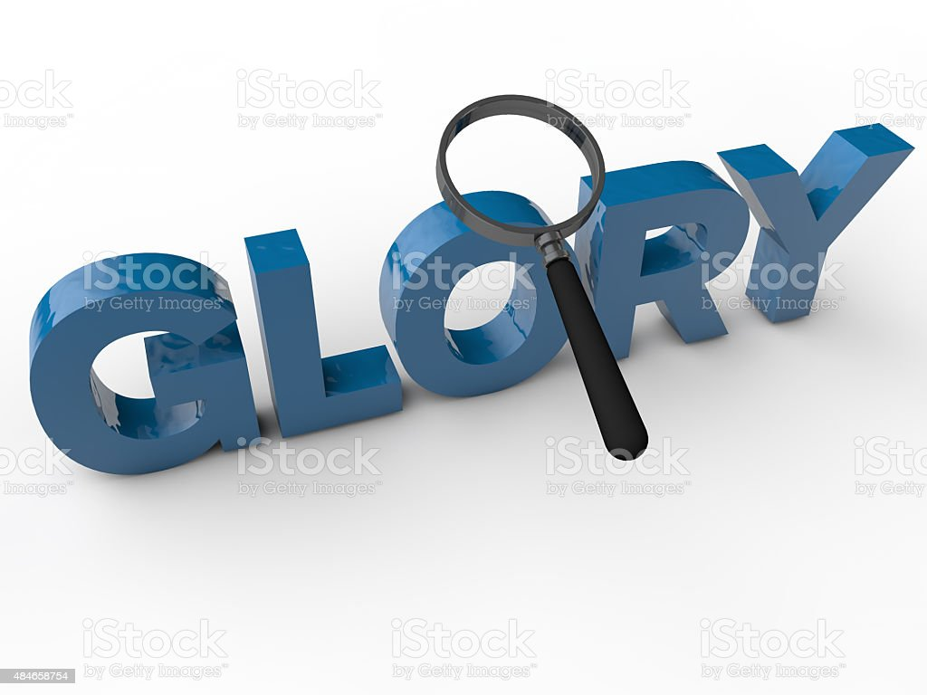 Glory stock photo