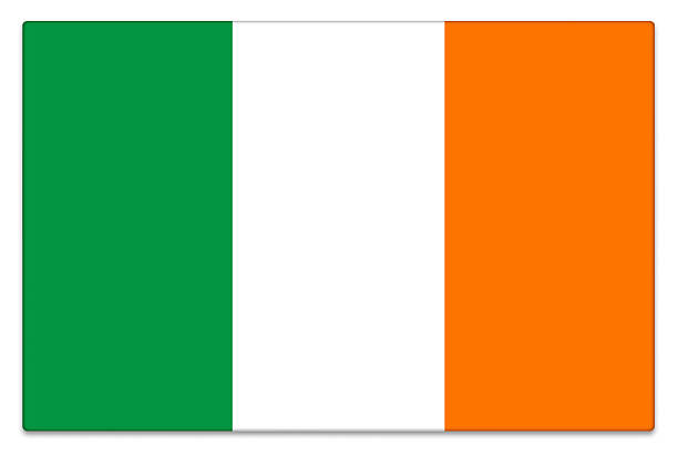 Royalty Free The Flag Of Ireland In Green White And Orange