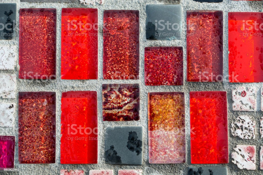 Glossy mosaic. Abstract seamless background. royalty-free stock photo