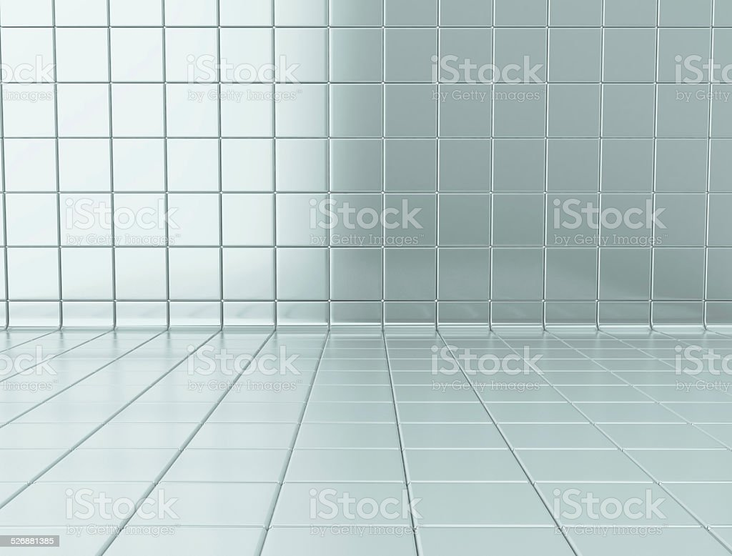 Glossy tiles stock photo