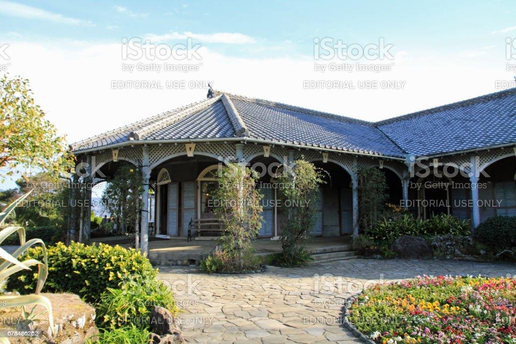 Glover house in Glover garden, Nagasaki, Japan royalty-free stock photo