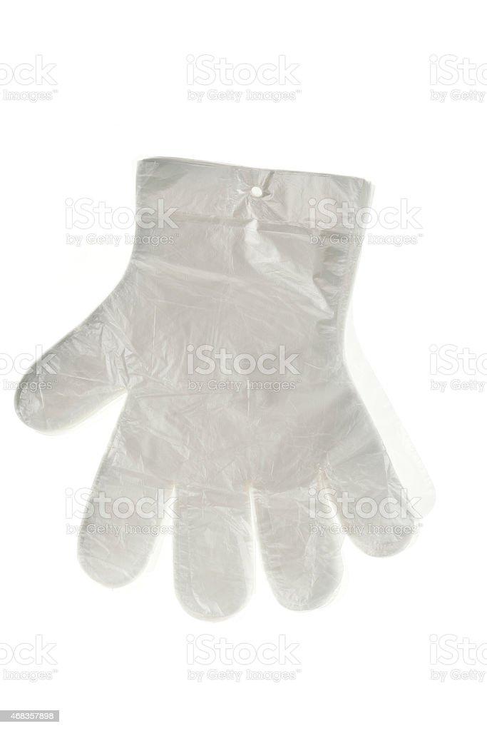 gloves cellophane royalty-free stock photo
