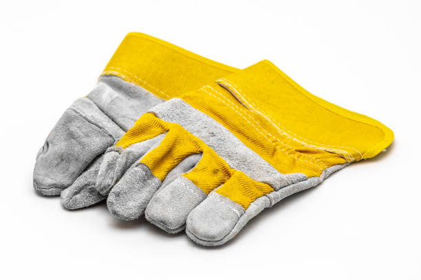 gloves for work - protective glove stock pictures, royalty-free photos & images