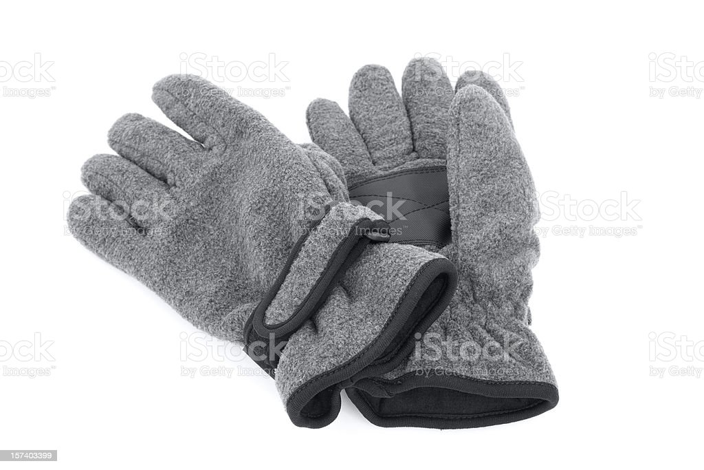 Gloves Isolated royalty-free stock photo