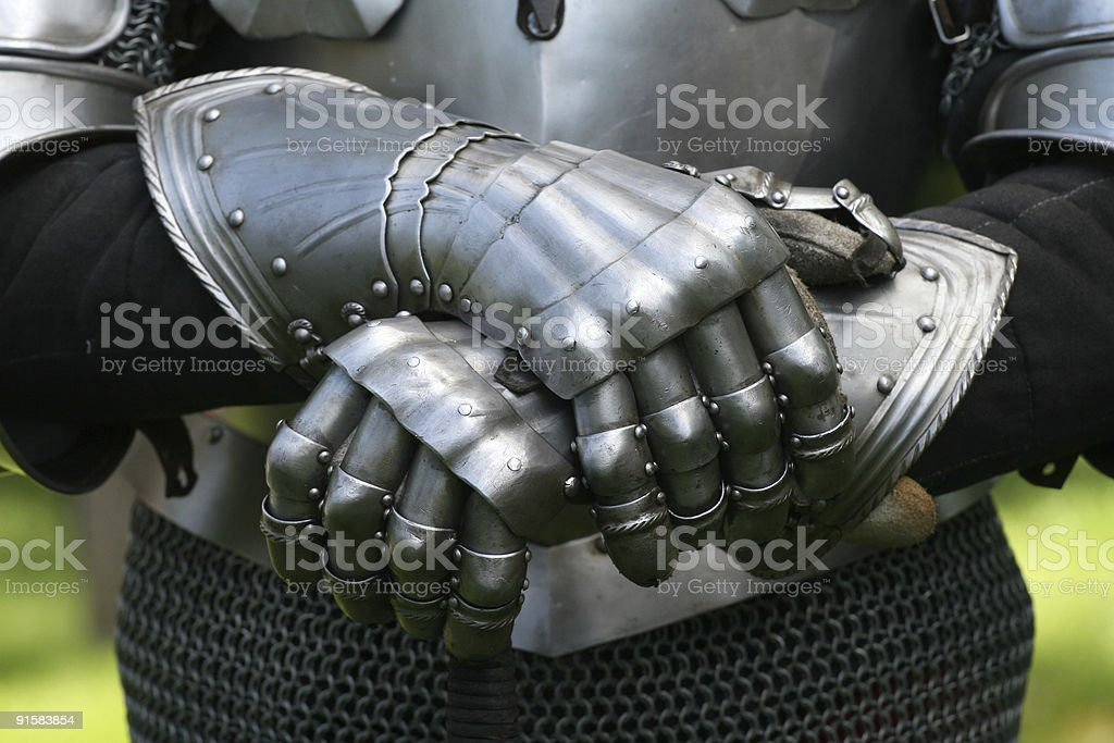Gloves of a knight  Adult Stock Photo