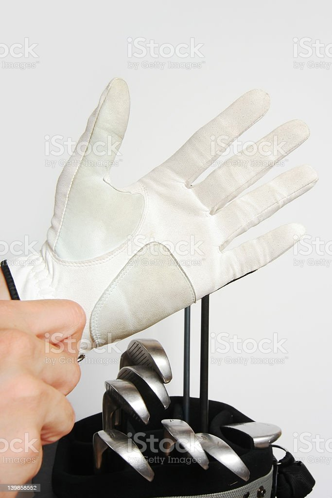 Gloves on royalty-free stock photo
