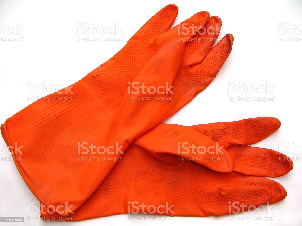 Gloves, royalty-free stock photo