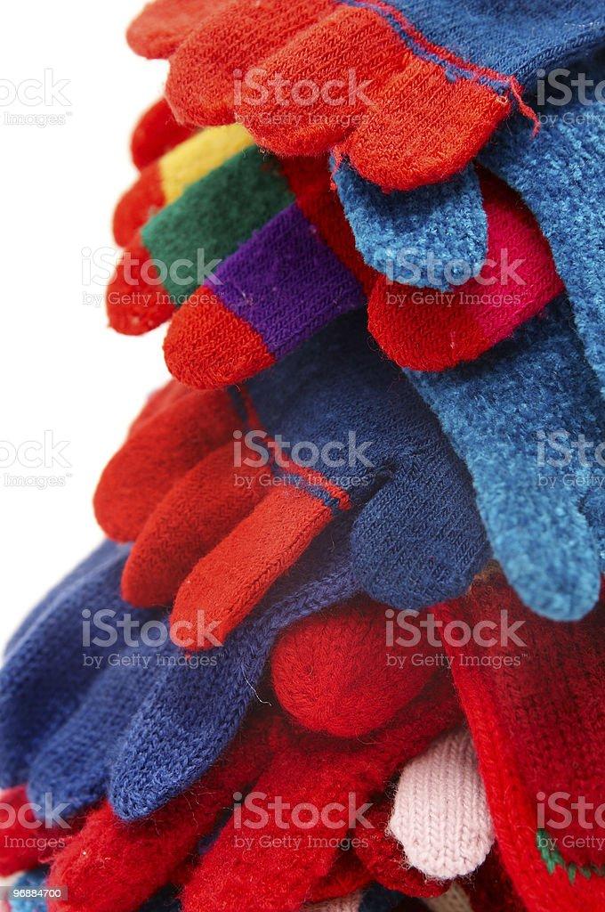 Handschuhe Lizenzfreies stock-foto
