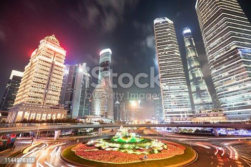544101220 istock photo Glow Of A Metropolis 1144976115