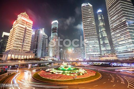 544101220 istock photo Glow Of The Big City 1144337595