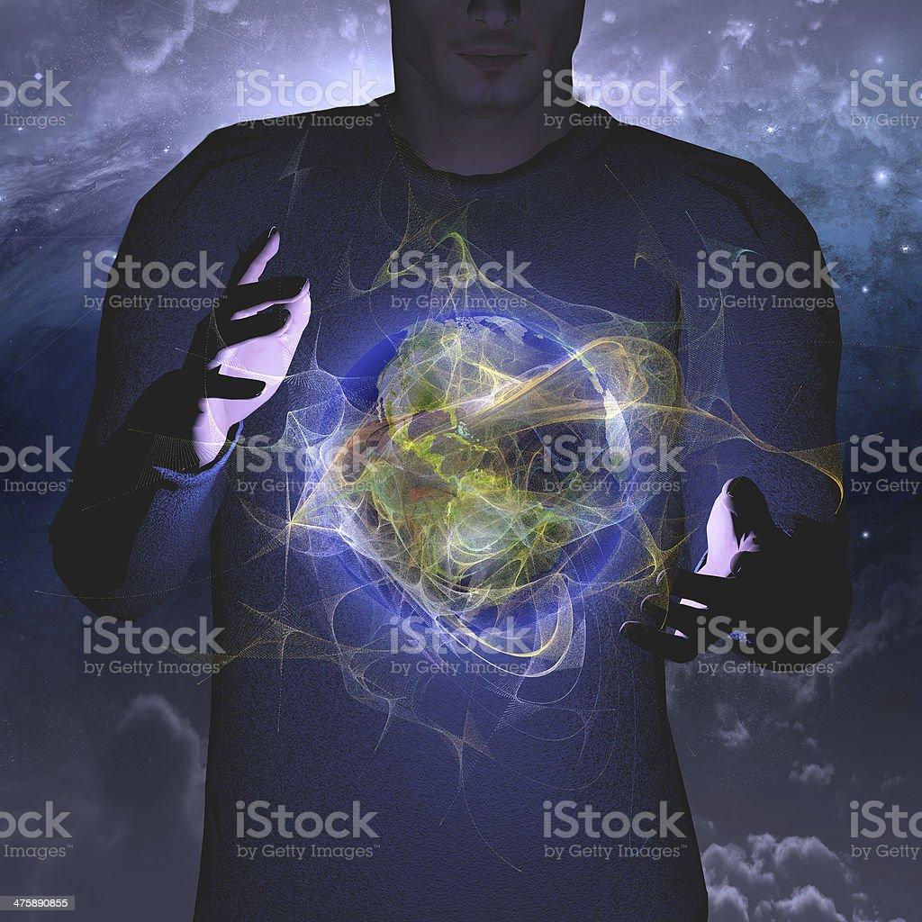 Glow stock photo