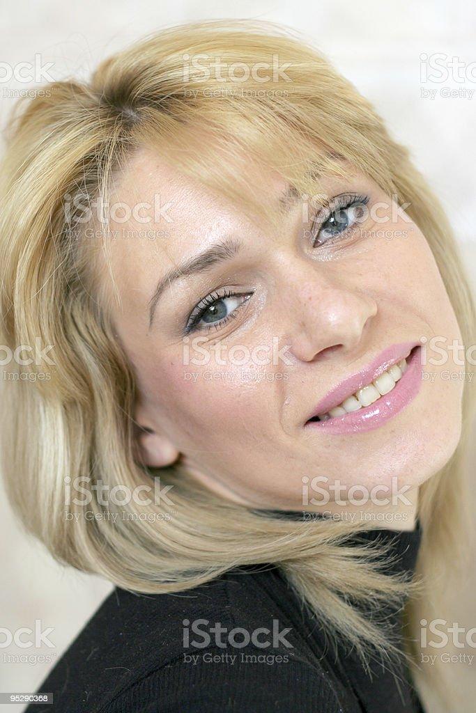 glow smile royalty-free stock photo