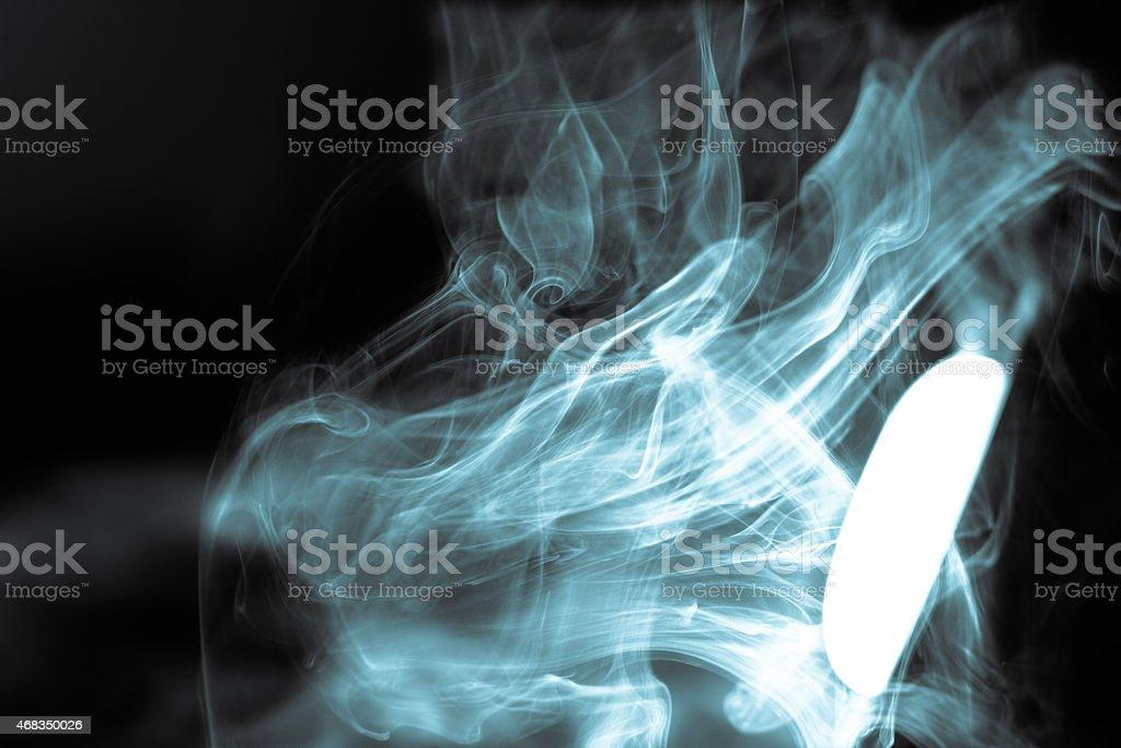 glow smoke royalty-free stock photo