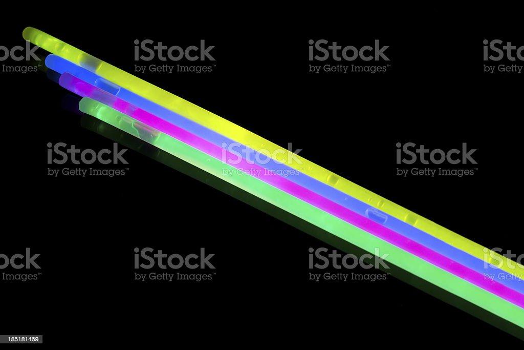Glow sticks royalty-free stock photo