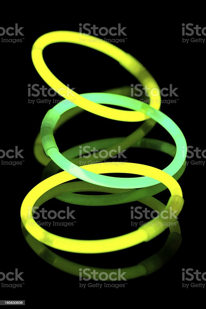 Glow sticks royalty-free stock photo