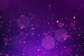 istock Glowing bokeh background 525978868