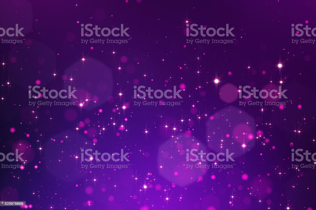 Glowing bokeh background stock photo