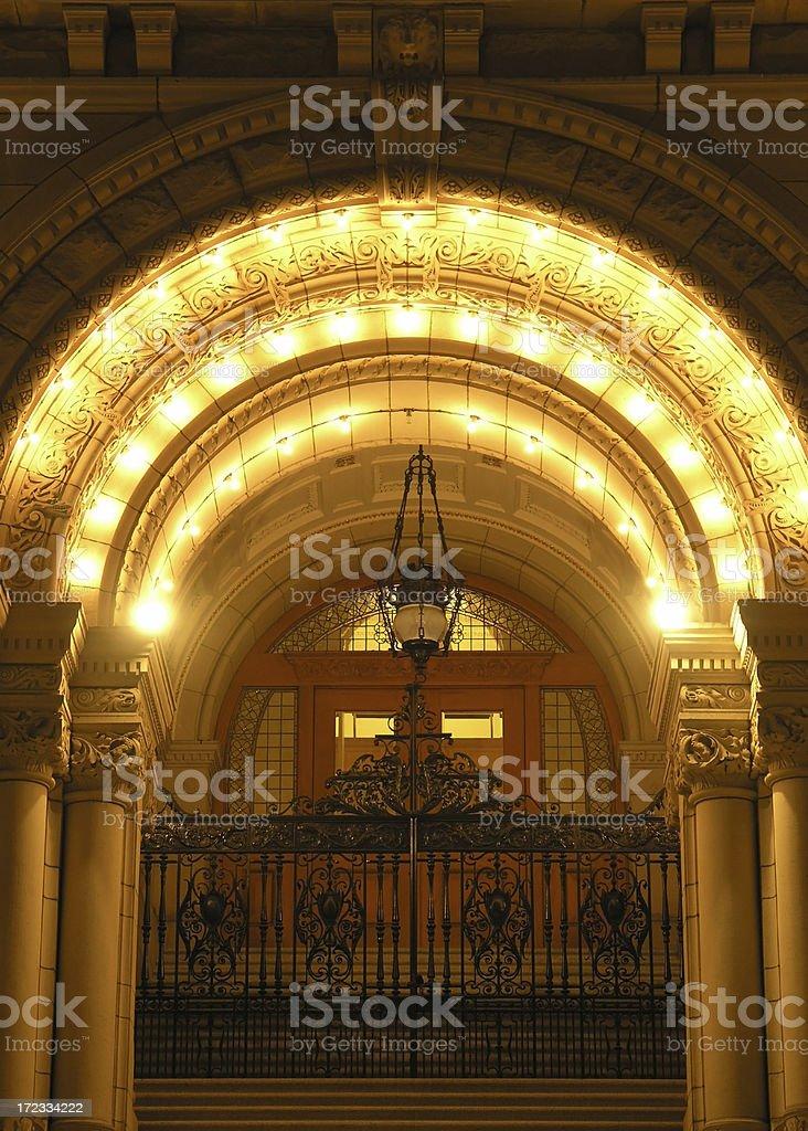 Glowing Doorway royalty-free stock photo