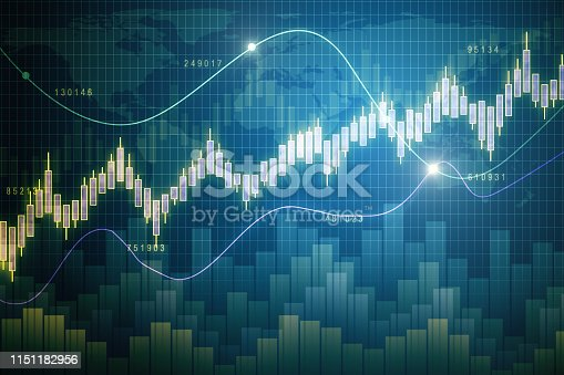 1177116437 istock photo Glowing forex wallpaper 1151182956