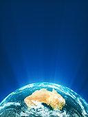 Glowing Globe Series - Oceania.