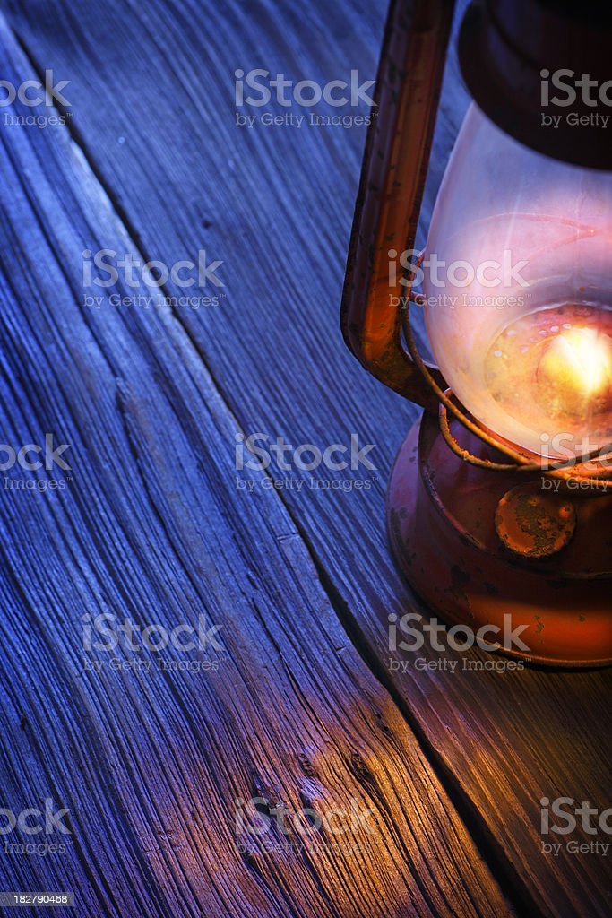 Glowing Lantern royalty-free stock photo