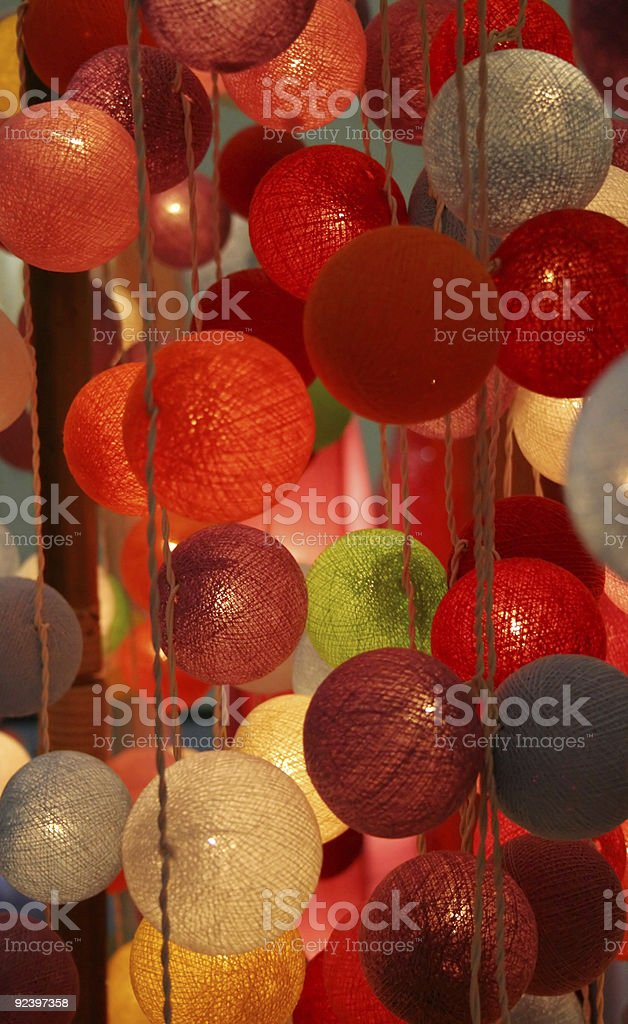 Glowing lights royalty-free stock photo
