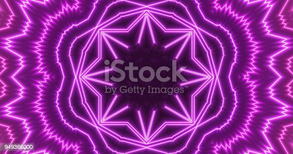 453101991 istock photo Glowing Neon Lights Backgrounds 949366000