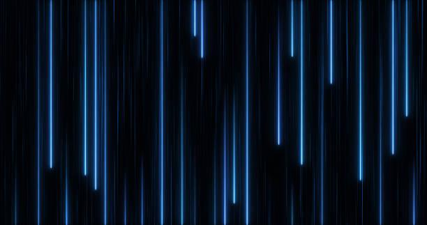 Glowing Neon Lights stock photo