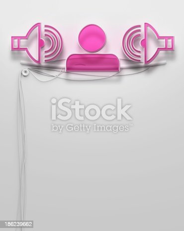1056445350 istock photo Glowing neon signboard with disco sign, copyspace 186239662