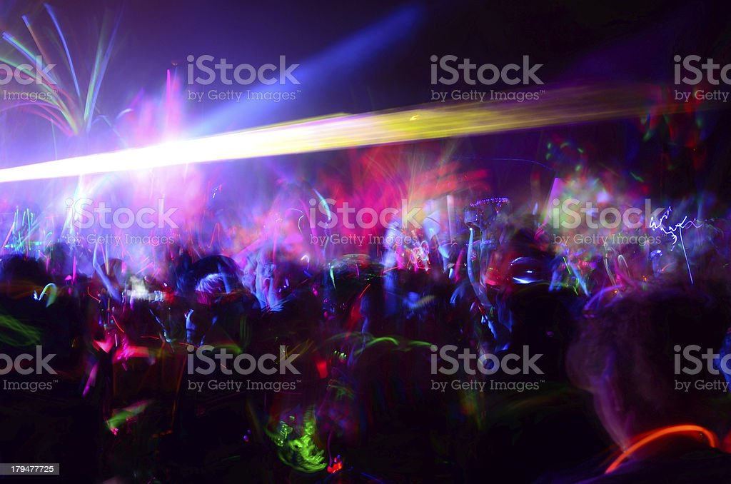 Glowing stock photo