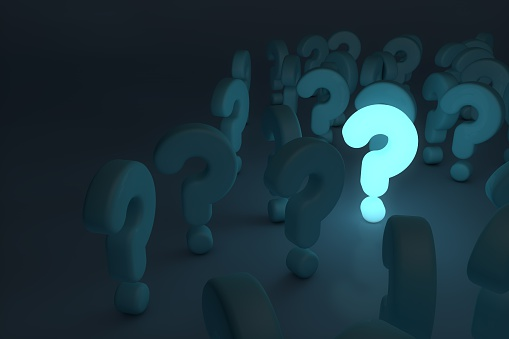 istock glowing question mark 512969576