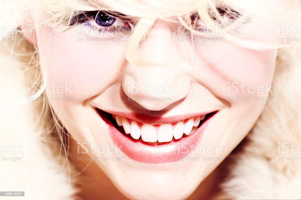 Glowing Smile stock photo