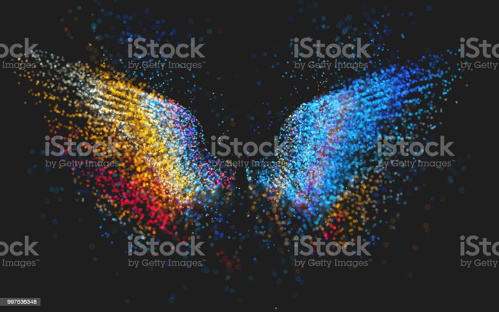 Glühend wings – Foto