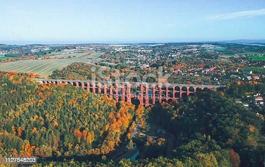 The Göltzsch Viaduct (German: Göltzschtalbrücke) is a railway bridge in Germany. It is the largest brick-built bridge in the world, and for a time it was the tallest railway bridge in the world