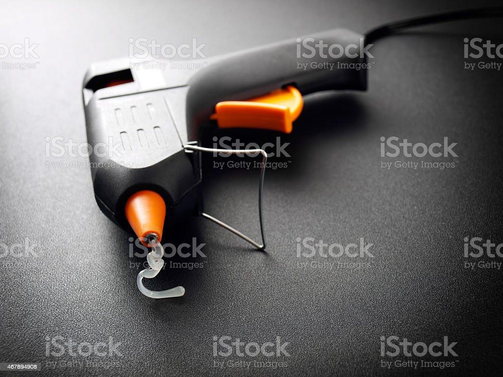 Glue gun stock photo