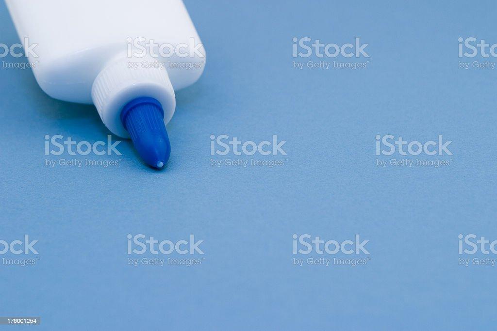 Glue royalty-free stock photo