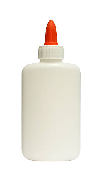 Glue Bottle of glue affix stock pictures, royalty-free photos & images