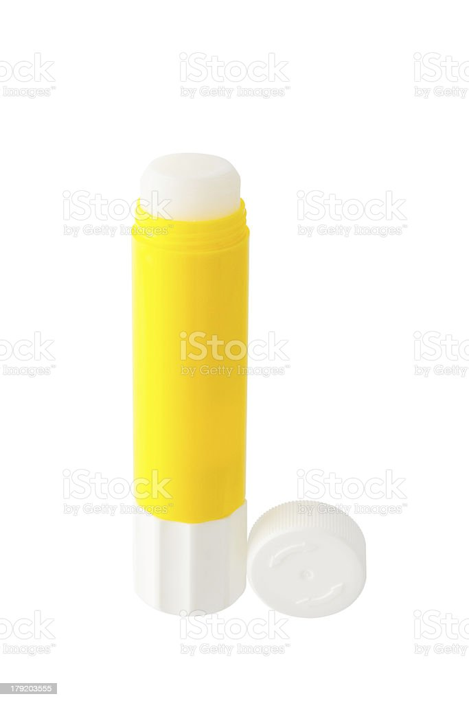 Glue stick stock photo