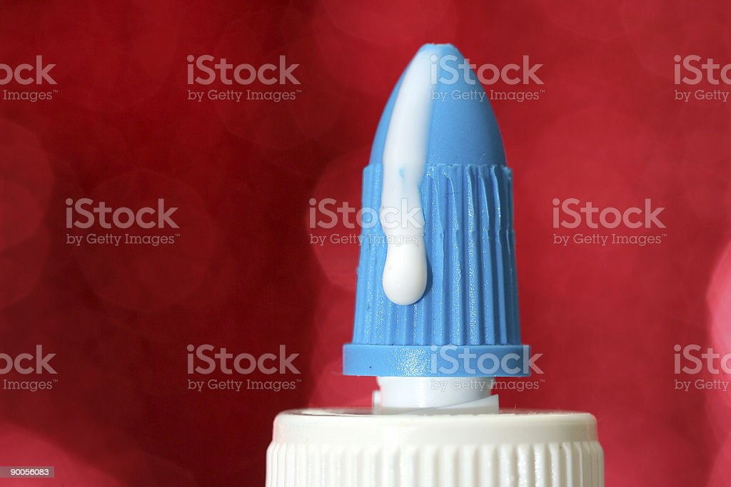 Glue Top royalty-free stock photo