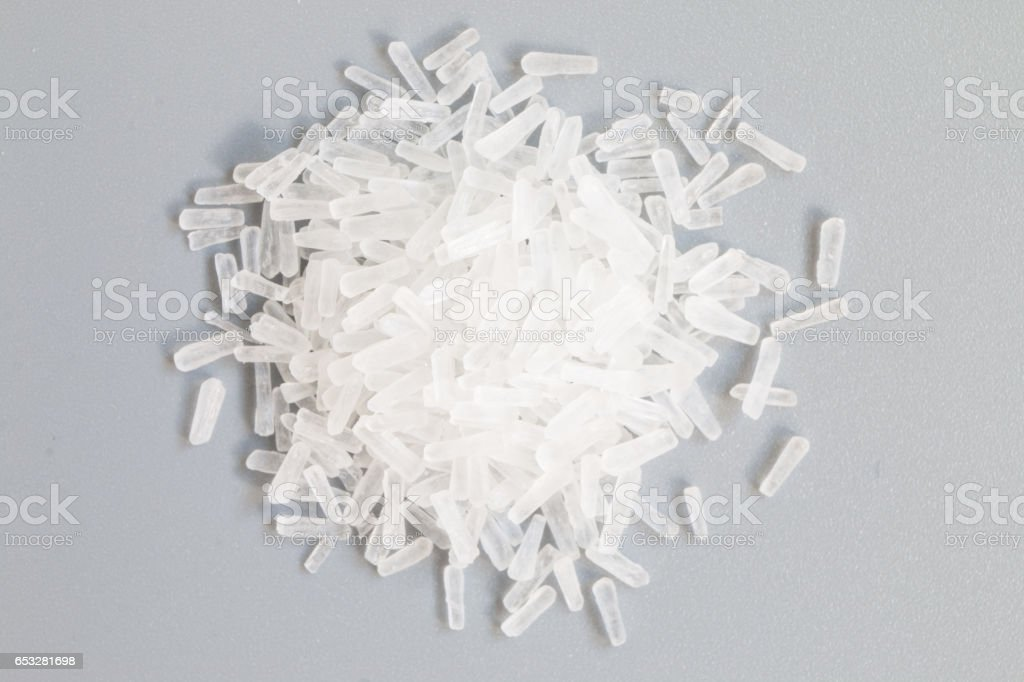Glutamic acid stock photo