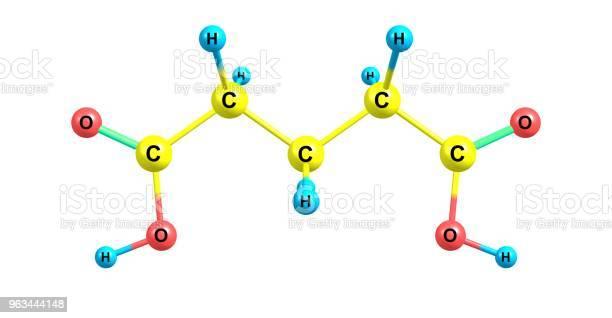 Struktura Molekularna Kwasu Glutaminowego Wyizolowana Na Białym - zdjęcia stockowe i więcej obrazów Badania