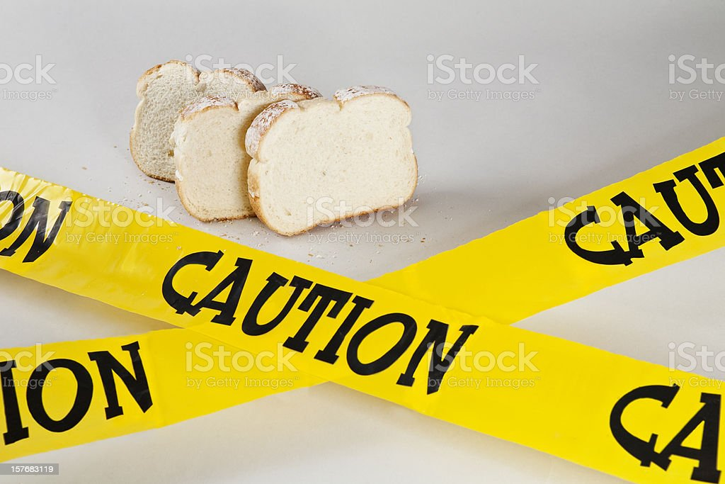 Gluten Allergy - 1 royalty-free stock photo