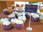 Gluten Free Birthday Cupcake Display