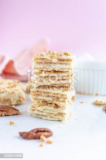 istock Gluten Free biscuit on bright background 1308944888