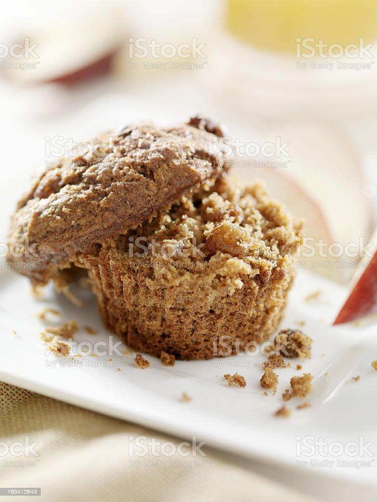 Gluten free Bran Muffin stock photo