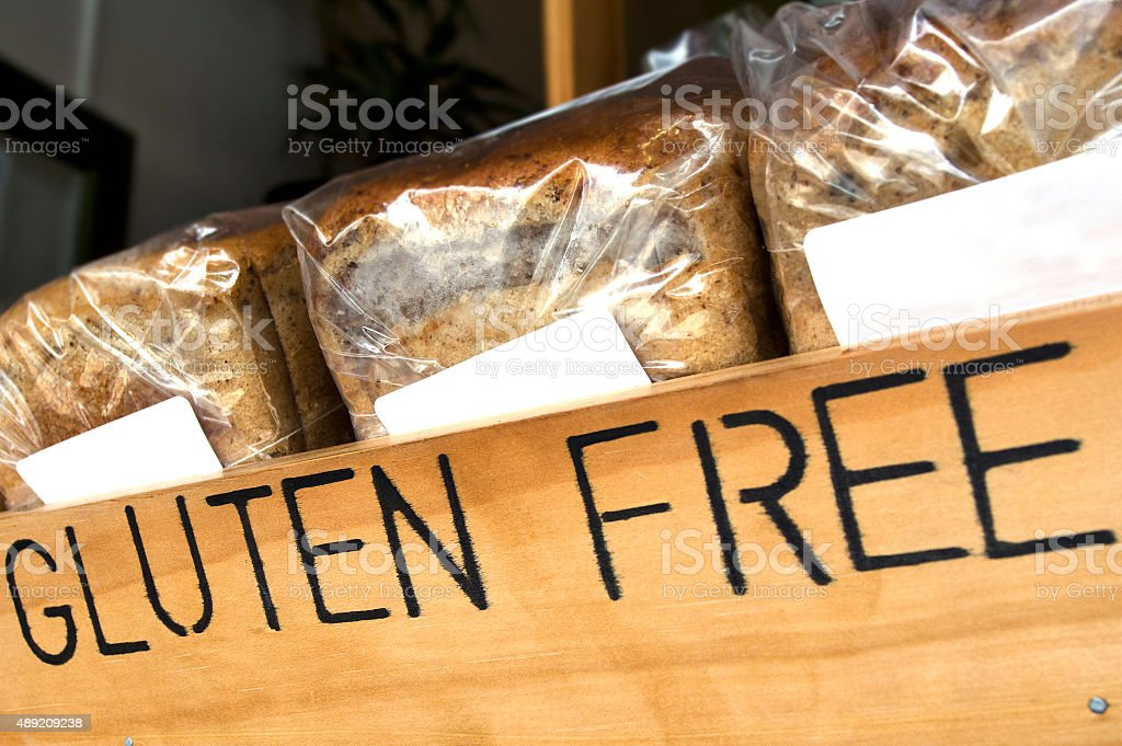 Gluten Free Bread stock photo