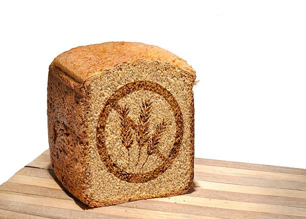 pain sans gluten - sans gluten photos et images de collection